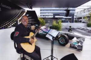 Formel 1 Sänger Musiker