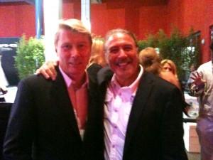 Mika Häkkinen und Uci Rausch