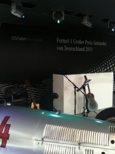 Musiker buchen Formel 1 Veranstaltung