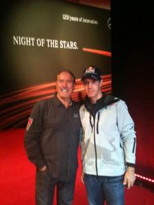 Sebastian Vettel und Uci Rausch