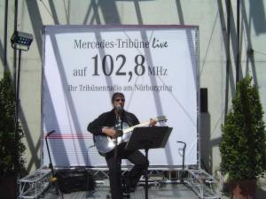 Formel 1 Nürburgring Musiker Live Musik